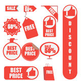Sale label. Sale discount label advertise Royalty Free Stock Photos