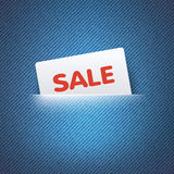 SALE label in pocket Royalty Free Stock Photo