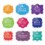 sale label set design elements Royalty Free Stock Image