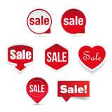 Sale Label sticker set Stock Photography