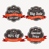 Sale label, sticker or tag. Stock Photos