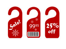 Sale labels. Sale and discount labels Royalty Free Stock Photography