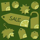 Sale labels Stock Photo