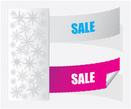 SALE labels. Special SALE labels - Christmas edition Royalty Free Stock Images