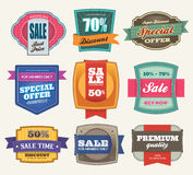 Sale Labels Stock Image