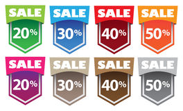 Sale labels Stock Photos