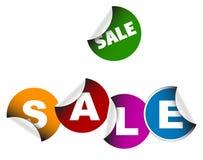 Sale labels Stock Photo