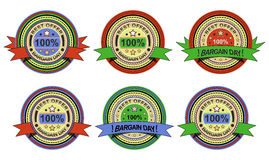 Sale labels collection Royalty Free Stock Image
