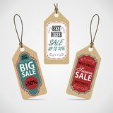 Sale labels set. Royalty Free Stock Photography