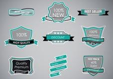 Sale labels Stock Image