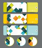 Sale labels vector template set. Stock Photography