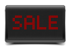 Sale LED Panel Royalty Free Stock Photography