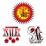 Sale logo key visual Stock Photos