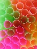 Sale a macroistruzione ed anelli colorati Fotografia Stock Libera da Diritti