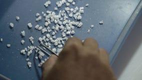 Sale marino cristallino di produzione Immagini Stock