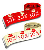 Sale measures Stock Photography