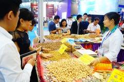 Sale of medicinal materials Stock Photo