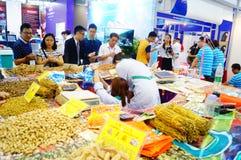 Sale of medicinal materials Royalty Free Stock Photo