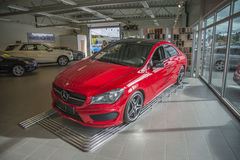 For sale, mercedes-benz cla-class Royalty Free Stock Images