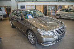 For sale, mercedes-benz e-class e200 7g-tronic Royalty Free Stock Photography