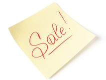 Sale message Royalty Free Stock Photography