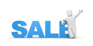 Sale metaphor Royalty Free Stock Photos