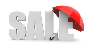 Sale metaphor Stock Image