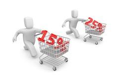 Sale metaphor Stock Photos