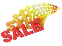 Sale multicolored Stock Images