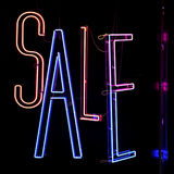 Sale Neons Royalty Free Stock Image