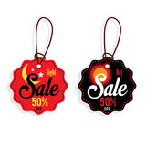 Sale night & day tag. Sale night & day tag graphic Stock Photos