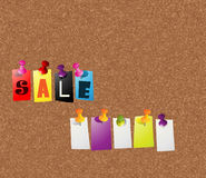 Sale notice concept Stock Photo
