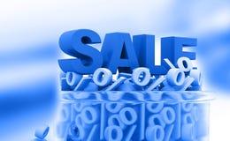 Sale och procentsatser Royaltyfria Foton
