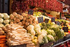 Free Sale Of Vegetables In The Market In Budapest, Hungary Royalty Free Stock Images - 106382299