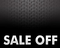 Sale off background Royalty Free Stock Image