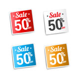 Sale 50 Off Labels Royalty Free Stock Photo