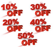 Sale off price Royalty Free Stock Image