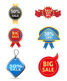 Sale off tag  icon Royalty Free Stock Image