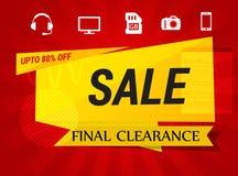 Sale Offer Badge - Illustration Royalty Free Stock Photo
