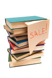 Sale of old books Royalty Free Stock Images