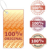Sale-Original. Set of colorful vector sale stickers, stamp and labels Royalty Free Stock Photography