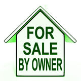 For Sale By Owner Means No Commission Royalty Free Stock Photo