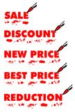 Sale paintings. Vector illustration of Sale paintings Royalty Free Stock Photography