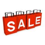 Sale pappers- påsar Royaltyfria Foton