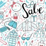 Sale_pattern Στοκ Εικόνες