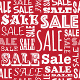 Sale pattern Stock Images