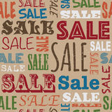 Sale pattern Royalty Free Stock Photos