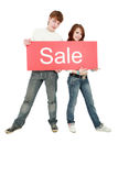 Sale People Royalty Free Stock Photos