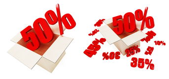 Sale percent Royalty Free Stock Photo