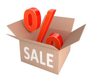 Sale Percent Discount Royalty Free Stock Images